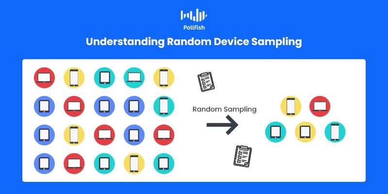 random device engagement sampling